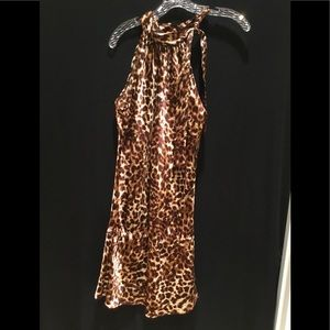 Beautiful Veronica M dress with Cheetah print